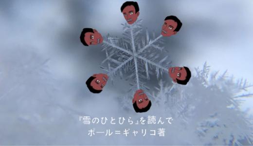 【書評】優しい心を失った人は『雪のひとひら』を読んでみませんか?